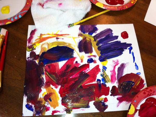 Art lesson 1